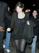Jessica Biel - Throwback C-Throughs Attending William Rast Fall 2009 Fashion Show  (2/16/09)