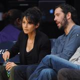 Эммануэль Шрики, фото 1685. Emmanuelle Chriqui attends the Los Angeles Lakers vs. Memphis Grizzlies NBA game in LA - 08.01.2012, foto 1685
