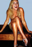 nice legs : tamzin outhwaite