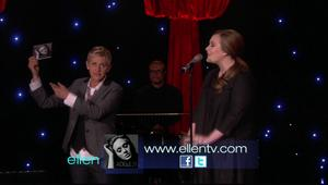 Adele - Someone Like You @ The Ellen DeGeneres Show  |2-23-2011| DD 5.1 MPEG2 HDTV 1080i