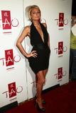 Paris Hilton in low-cut black dress promotes her MTV reality show Paris Hilton's My New BFF at Tao in Las Vegas