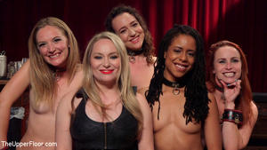 THE UPPER FLOOR: Aug 23, 2016 – Aiden Starr, Lilith Luxe, Mona Wales, Mickey Mod, Marco Banderas, Bella Rossi and Kira Noir/A Slave Orgy Like No Other