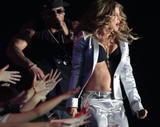Fergie performs in blak bra at MTV movie Japan awards